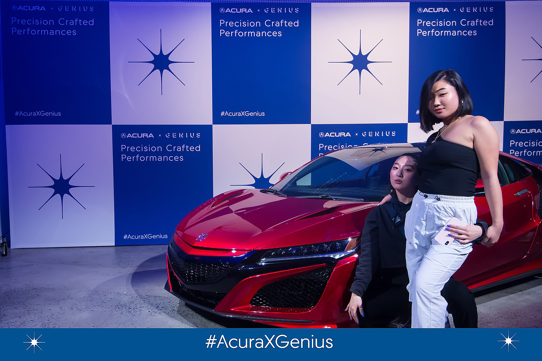 acura car photo booth nyc