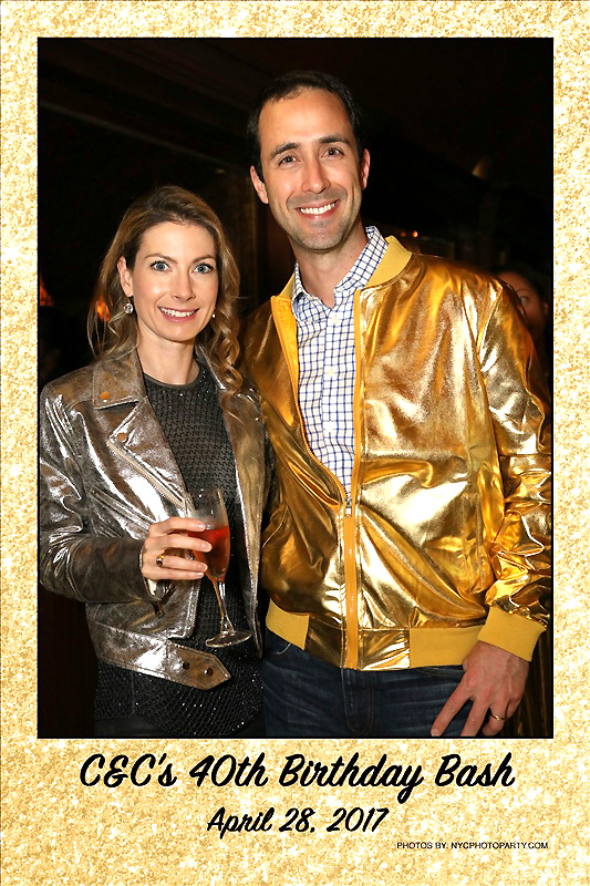gold party nyc photographer
